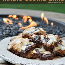 S'mores Magic Cookie Bars Recipe