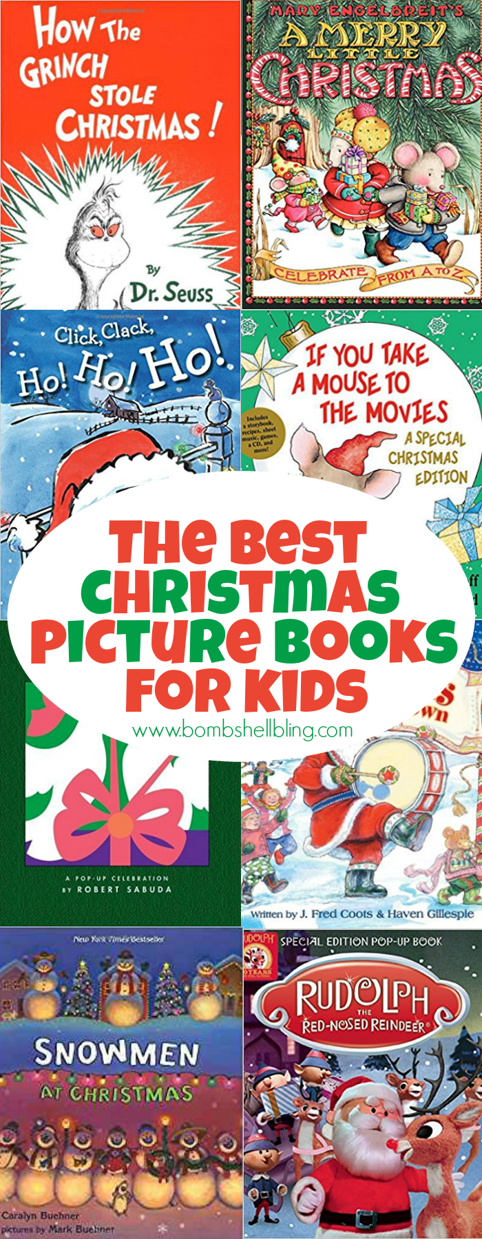 This list of the best Christmas picture books for kids will help families enjoy the holiday season even more. Reading together is a wonderful way to build holiday traditions.