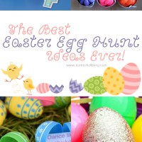 The Best Easter Egg Hunt Ideas EVER!