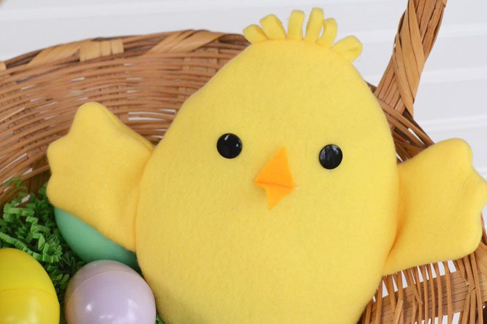 Easter Chick Reversible Softie