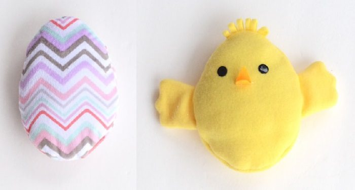 This adorable Easter chick reversible softie is the perfect surprise for a baby or kiddo in your life! Snuggly AND adorable!
