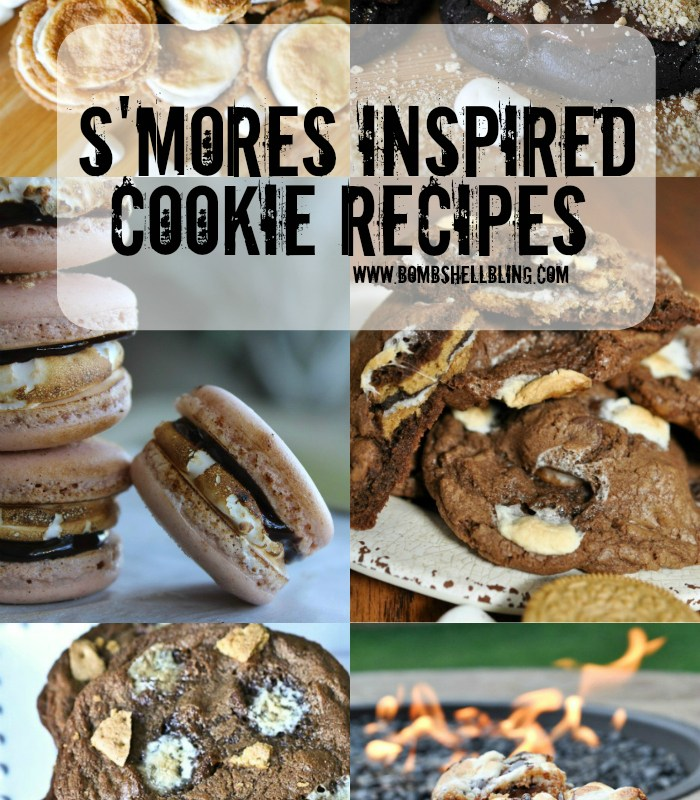 10 S'mores Inspired Cookie Recipes