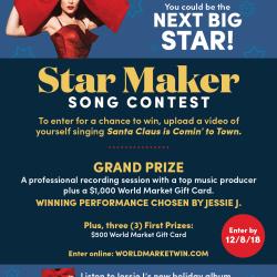 World Market Star Maker Song Contest!