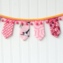 Charm Square Bunting Banner
