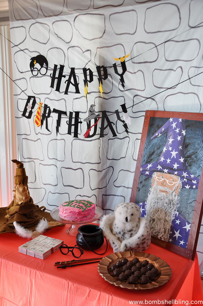 This Harry Potter Birthday Party is full of great ideas for games, food, and decor!  Perfect inspiration for your next birthday bash!