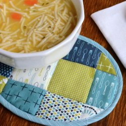 Soup Bowl Coaster Tutorial
