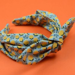 Easy Knot Bow Headband – Free Sewing Pattern