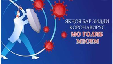 Photo of Шумораи расмии гирифторони коронавирус дар Тоҷикистон ба 12 ҳазор расид