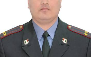 Photo of Подполковники ВКД Аслиддин Шоҳиён соҳиби камарбанди сиёҳи таеквондо шуд