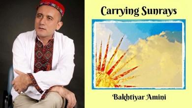 """Photo of """"Carrying Sunrays"""": Китоби шеърҳои шоири тоҷик Бахтиёр Аминӣ дар Амрико чоп шуд"""