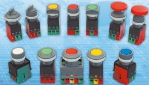 22 & 30mm Pushbutton Switch