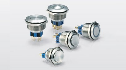 25Ø Metal Button Switch Series