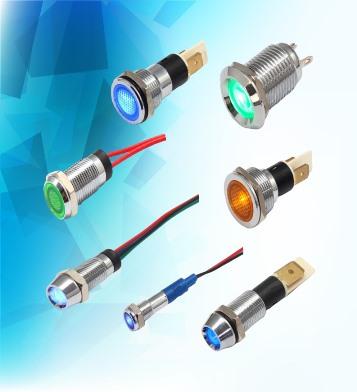 Metal Indicator Light bn