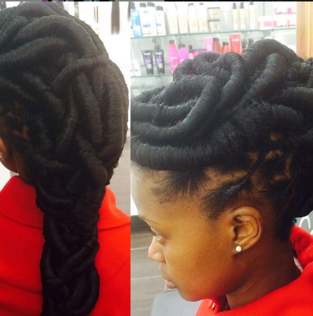 Zenande Mfenyanas Hair  5 Times She Nailed It