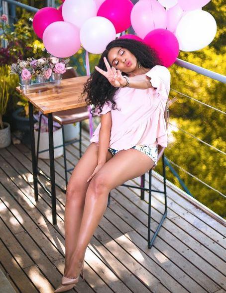 SEE PICS Linda Mtoba celebrates her 27th birthday  Bona Magazine
