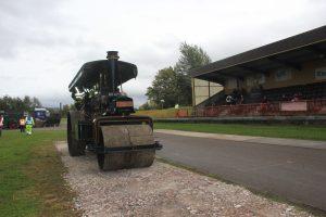 Road Works at Steam@Alford