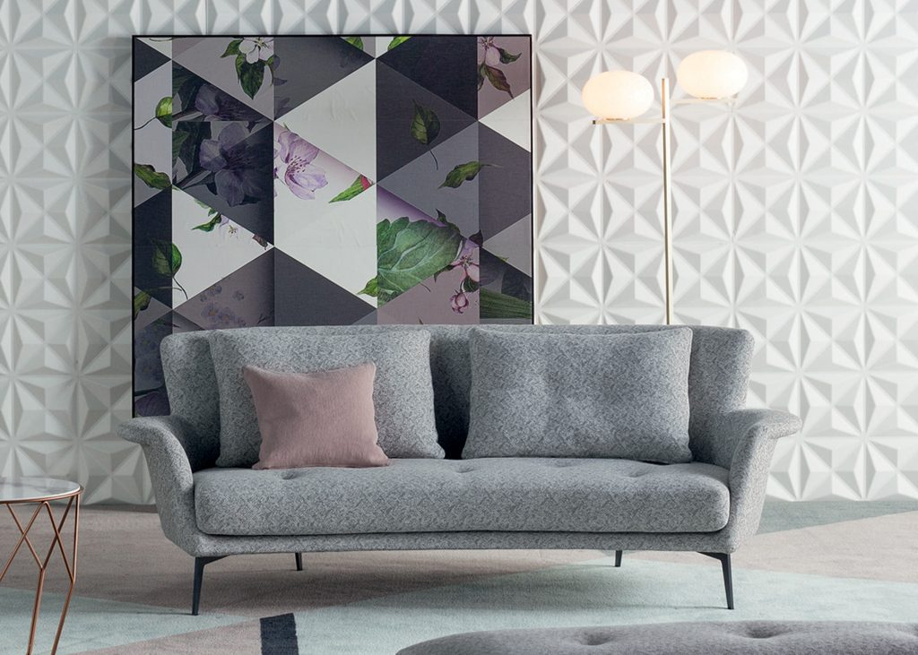 oval sofa baxton convertible lovy hi bonaldo montreal retains the semi shape that invite you to chat and relax his backrest is high straight perfect be used in residential