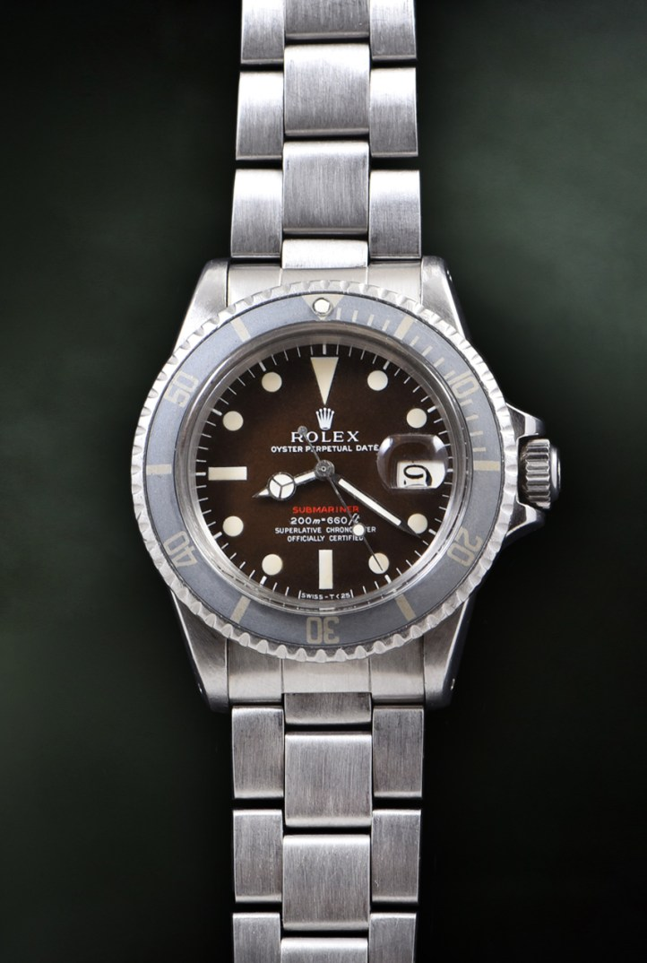 Rolex Submariner Mark III Tropical Red Ref. 1680