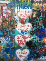 I Love You Prague graffiti
