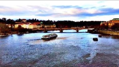 Manesuv Most and the Vlatava River