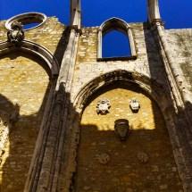 Monastery walls, open ceiling