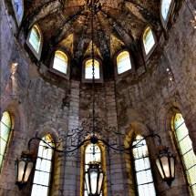 Monestary inside ceiling