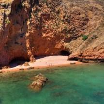 Berlenga Beach and cliffs
