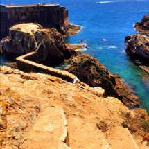 Berlenga Fort and water