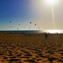 Guincho Beach Kite Surfers