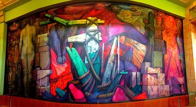 Diego Rivera murals Belles Artes