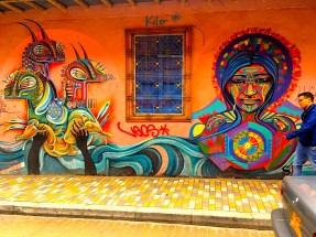 Bogota Street Art Rodez Gauche