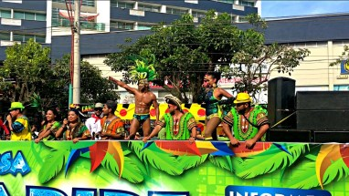 Carnaval Floats... and abs