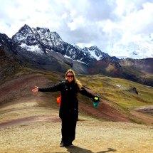 Rainbow Mountain and Ausangate backdrop