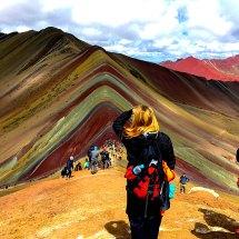 Rainbow Mtn overlooking