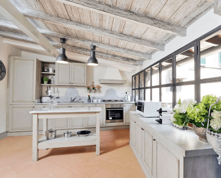 kitchen rental narrow tables 5 vacation rentals in italy that have stunning kitchens bonappetour