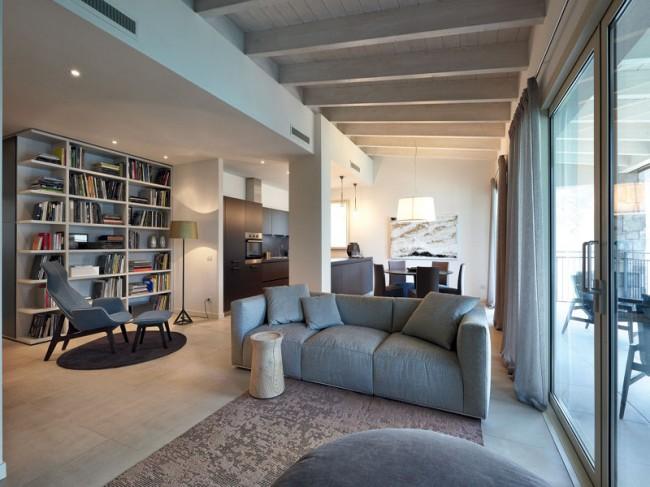 come arredare un soggiorno moderno e classico