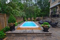 Ideas For Back Yard Small In Ground Pools