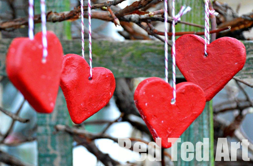 Salt Dough Recipe Valentines Decorations By Red Ted Art