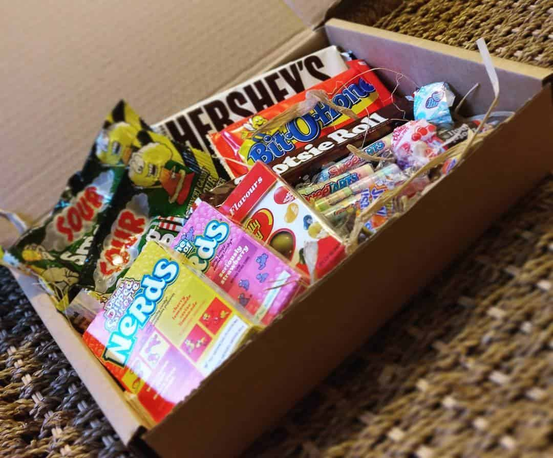 Monthly American Candy Subscription Box Free Delivery Uk