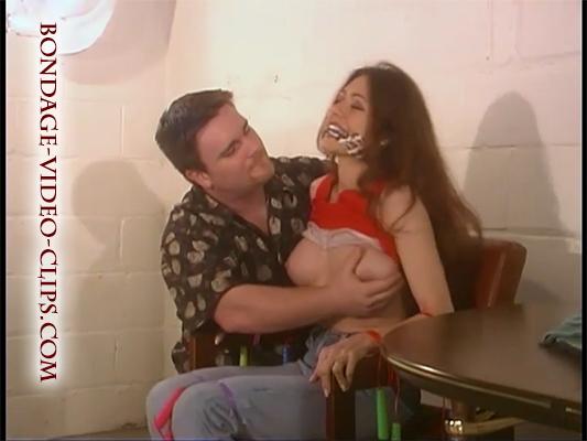 Natasha Flade is The Tutor  1 hour Babysitter Bondage