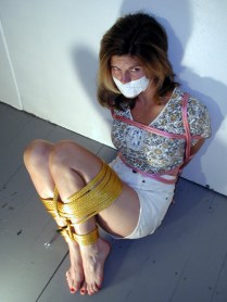Hot Wives enjoy being bound and gagged in Bedroom
