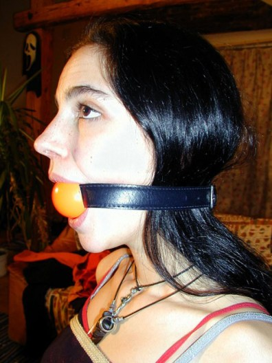 Hot young Cutie tightly tied up and Ball Gagged