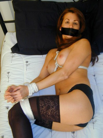 Kinky Girlfriends have Fun tied up and gagged
