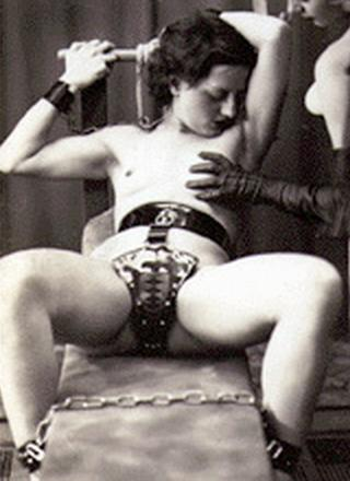 her chastity belt caption