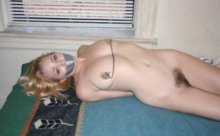 Cute Young Girlfriend Bound, Stripped and Punished by Her Boyfriend