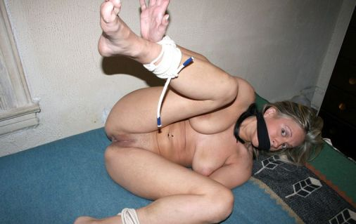 Hot Young Girlfriend Bound and Gagged by Her Boyfriend for Discipline