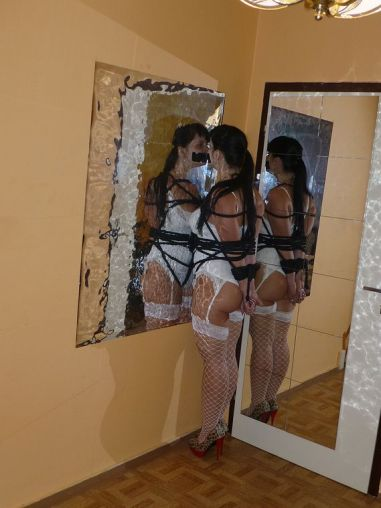 Kinky Russian Housewife Gets Tightly Bound and Gagged by Her Husband
