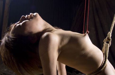 Sexy Young Asian Gets Stripped, Suspended and Blindfolded for Training