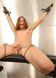 Sexy Young Brunette Gets Restrained, Tortured Hard and Disciplined