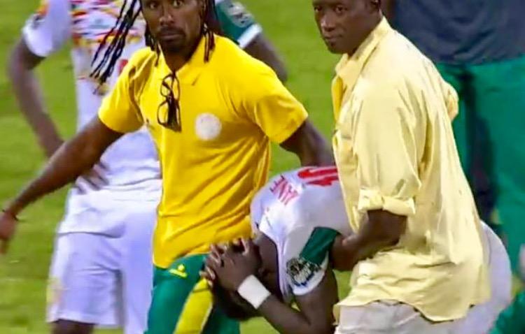 Image result for Sadio Mané pleure